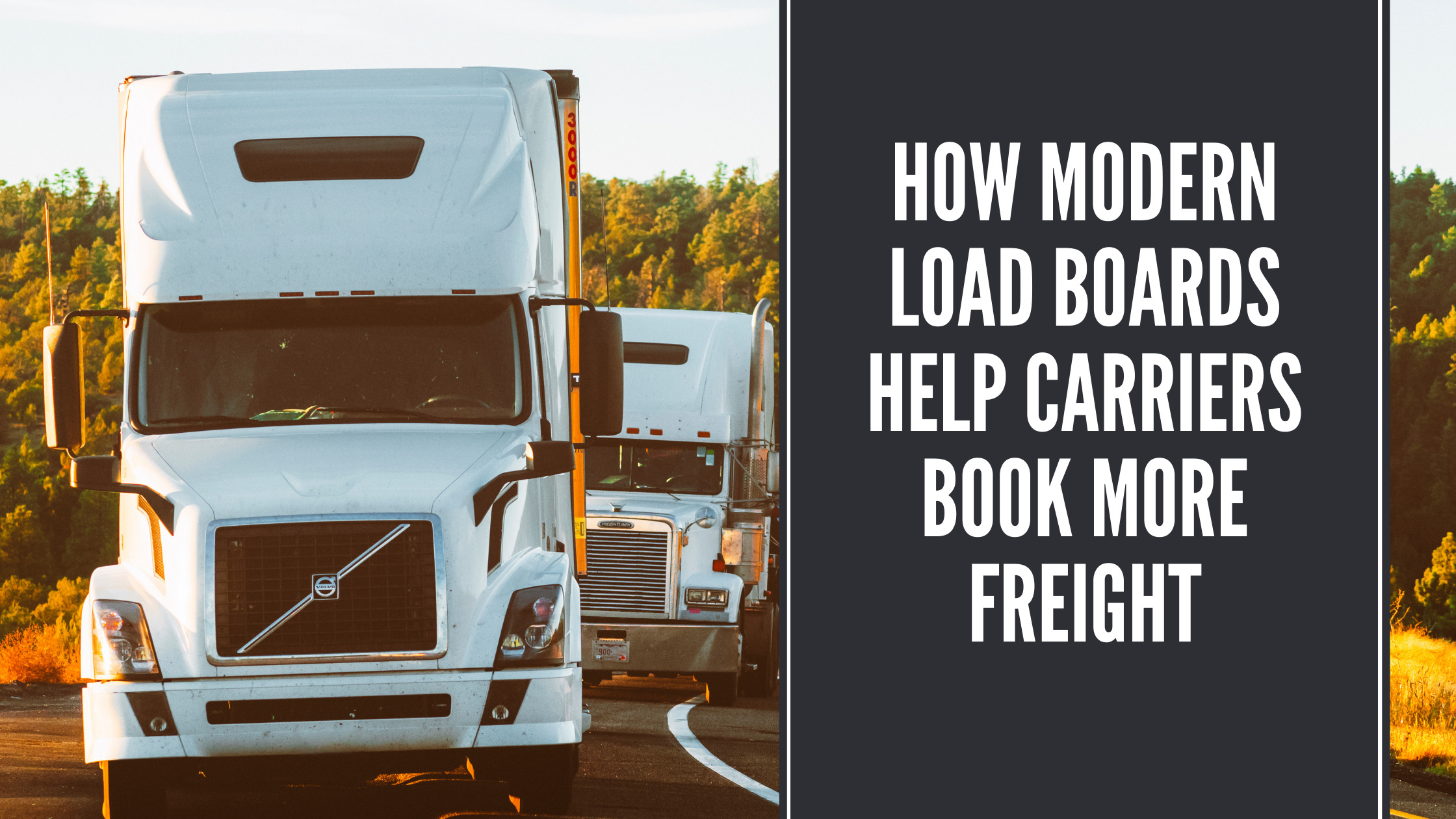 how modern load boards help carriers book more freight