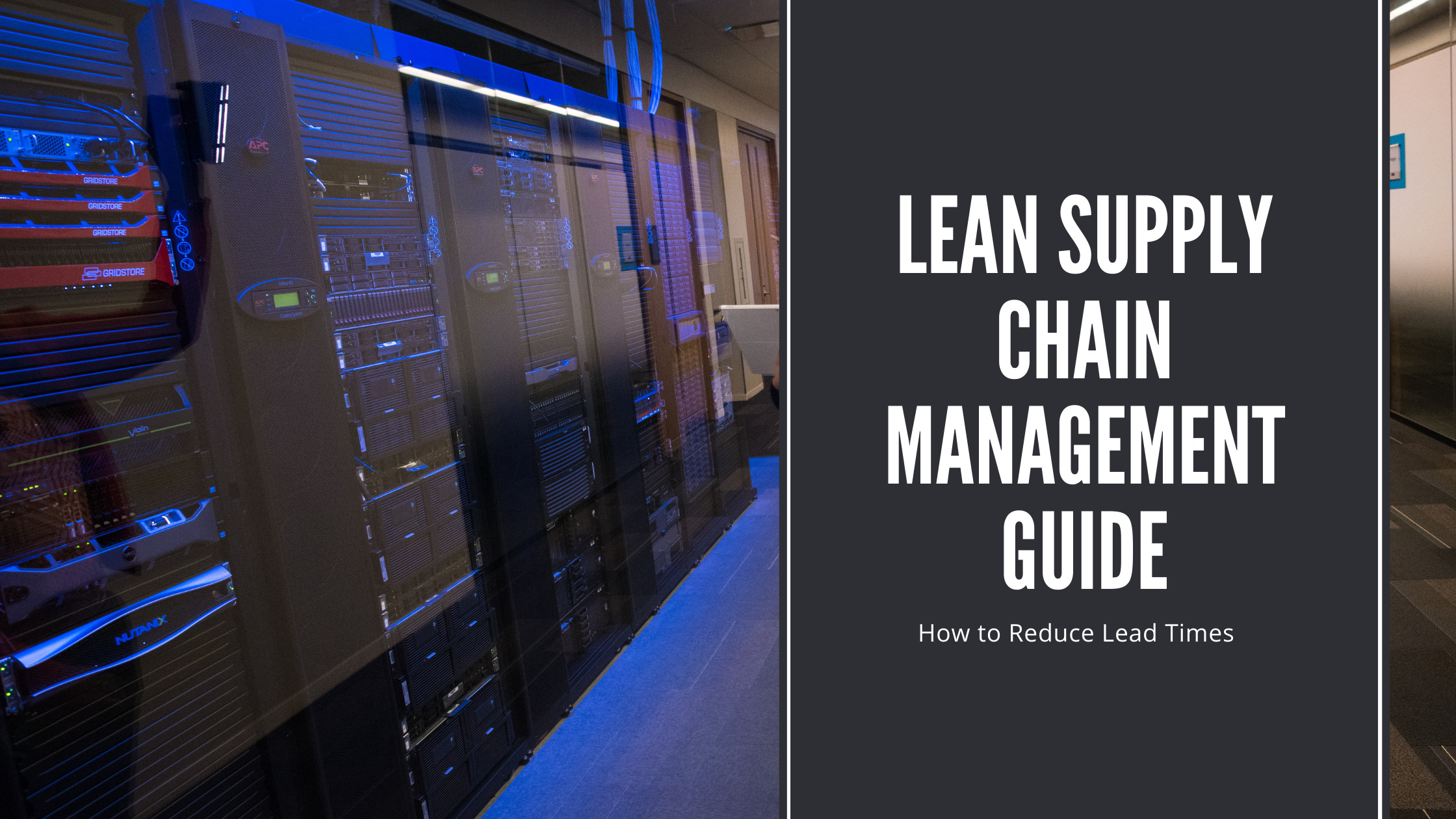 lean supply chain management guide