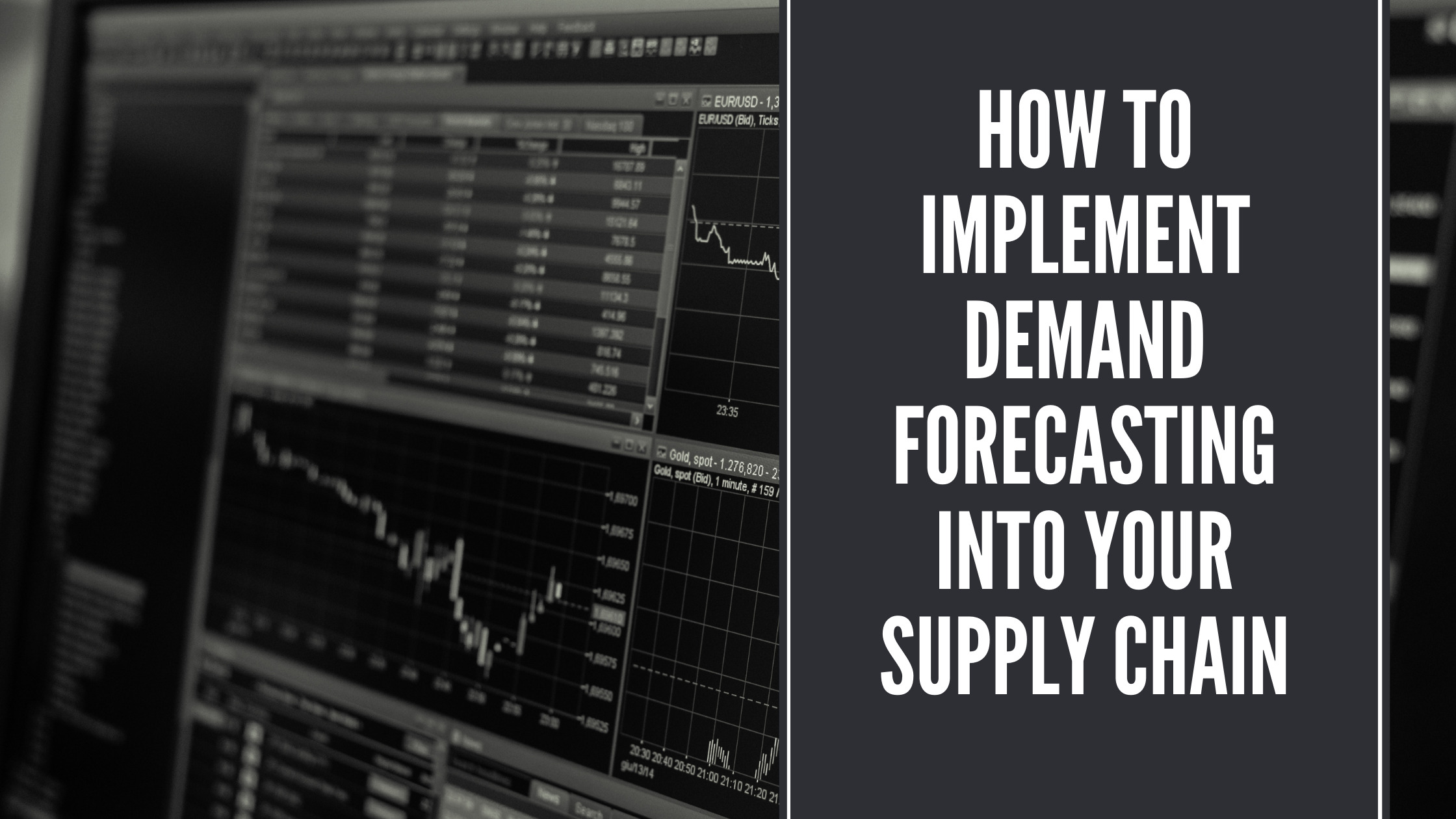 How to implement demand forecasting into your supply chain