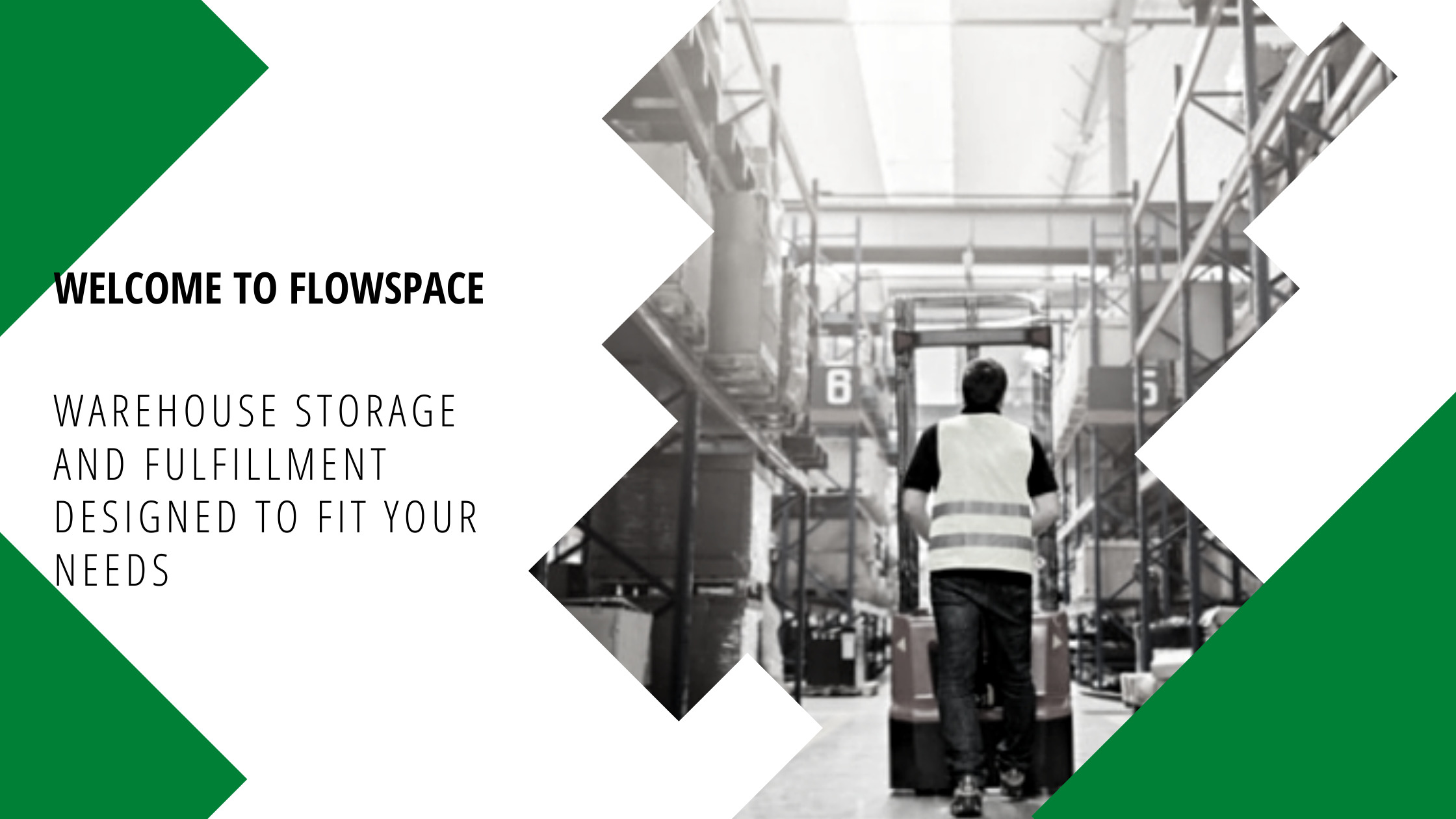 Warehouse Storage and Fulfillment Designed To Fit Your Needs Cover Page